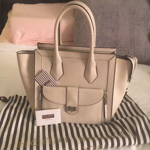 HENRI BENDEL NEW YORK CREAM HANDBAG